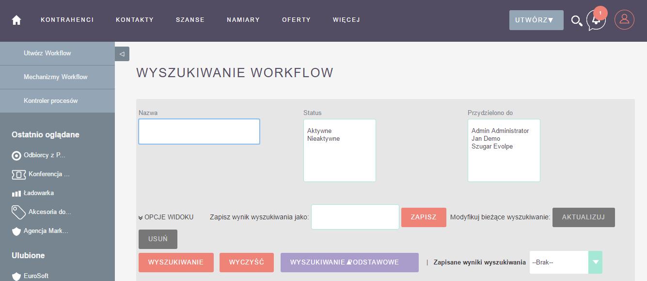 workflow wSuiteCRM