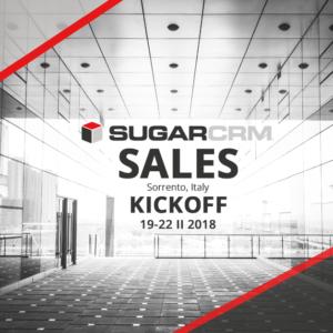 sugarcrm sales kickoff 2018