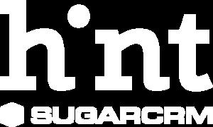 Sugar CRM hint logo white transparent